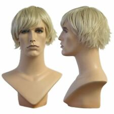 WG-016 Blonde Wedge Cut Richard Wig (Halloween/Party/Costume/Cosplay) Wig Only