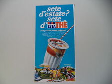advertising Pubblicità 1978 ESTATHE' ESTA THE' FERRERO