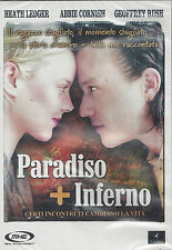 Dvd **PARADISO + INFERNO** con Heath Ledger nuovo sigillato 2006