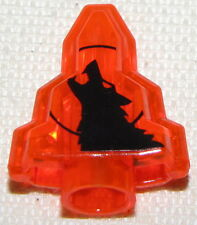 LEGO RARE ORANGE WOLF MOONSTONE HALLOWEEN ROCK MONSTER FIGHTERS CRYSTAL