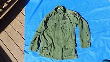 Vietnam US Army Military Jungle Jacket Fatigue Cotton 3rd Pattern Medium Reg