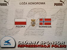 TICKET 31.8.2001 U21 Polska Polen - Norwegen