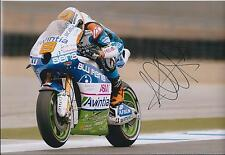 Hector Barbera SIGNED Avintia Blusens MotoGP Racing Team 12x8 Photo AFTAL COA