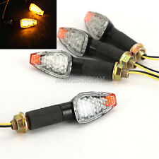 Motorcycle 4pcs LED Turn Signals Blinkers Indicators Fits BMW KTM Triumph Ducati