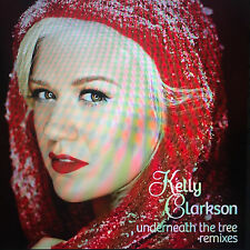 KELLY CLARKSON ''UNDERNEATH THE CHRISTMAS TREE'' RCA RECORDS 7 REMIX CD PROMO
