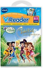 Vtech V.Reader Disney Fairies TinkerBell New Fairy Rescue AGE 5-7 3417762803003