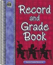 Record and Grade Book by Teachers Created Materials Staff (2008, Paperback,...