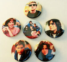 6 piece lot of Breakfast Club pins buttons badges