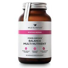 Wild Nutrition Donna Su Misura Cibo-coltivati SALDO Multi Nutriente capsule VegiCaps 90