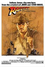 Indian Jones Raiders of Lost Ark fea. Harrison Ford Poster 24x36
