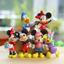 disney mickey minnie music anime figure figures Set of 6pcs doll Toy L391