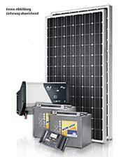 Solarsystem Photovoltaik Anlage 50Wp + deutscher Laderegler +230V/ 300 W Invert