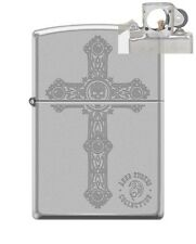 Zippo 205 Anne Stokes Cross Design Lighter with PIPE INSERT PL