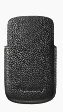 For Blackberry Q10 Leather Holster Pouch Sleeve Case Cover Black
