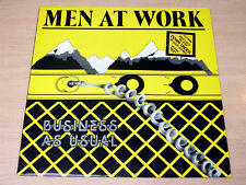 EX/EX- !! Men At Work/Business As Usual/1982 Epic LP