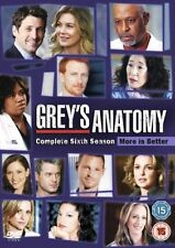 Grey's Anatomy - Series 6 - Complete (DVD 6-Disc Set, Box Set) NEW AND SEALED R2