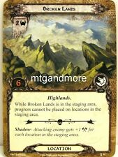Lord of the Rings LCG  - 1x Broken Lands  #054 - The Voice of Isengard