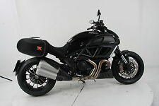 Ducati Diavel panniers by Krauser. Street Softbags with full fitting kit