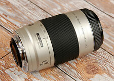 SONY Alpha Digital fit Minolta AF 75 - 300mm D Silver Telephoto zoom FREE Filter