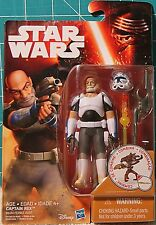 2016 Stars Wars Episode The Force Awakens Disney's REBELS ~CAPTAIN REX~ 3 3/4