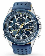 New Citizen Eco-Drive Blue Angels Chronograph Atomic Men's Watch AT8020-03L