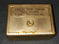W.F. BURNS CO. CHICAGO TRAVELLING BANK  OF FIDELITY TRUST COMPANY # A338 (C1B2)