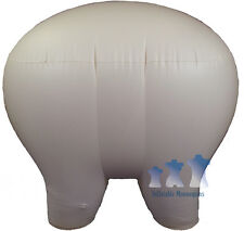Inflatable Mannequin SUPER XL Panty/Brief Form  IVORY