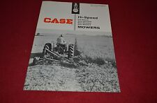 Case Tractor Hi Speed Mowers For 1958 Dealer's Brochure YABE4