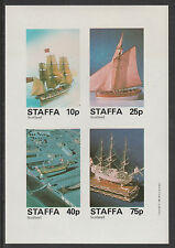 GB Locals - Staffa (2383) - 1981 MODEL SHIPS imperf sheetlet  unmounted mint
