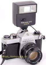 Pentax SP 500 35mm SLR Camera + SUPER-Takumar Lens + Euro-MASTER Exposure Meter