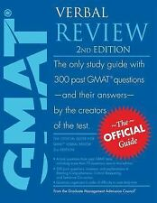 The Official Guide for GMAT Verbal Review by Graduate Management Admissions...