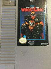 WCW World Championship Wrestling (Nintendo Entertainment System, 1990) VGC!!!!!