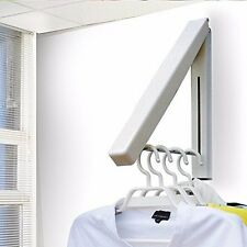 Good Stainless Clothes Foldabel Hangers Hidden Invisible Wall mount Hanger
