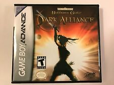 Baldur's Gate Dark Alliance - GBA - Replacement Case - No Game