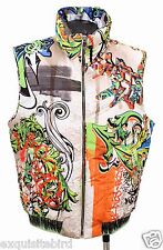 SOLD OUT! NEW VERSACE COLLECTION SLEEVELESS GOOSE DOWN JACKET VEST 50 - 40 - L
