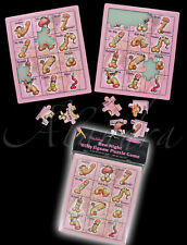 2 x Puzzle Willy rompicapo Hen Night Party Sposa A Essere Divertente Willy GIOCO