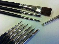 Model Painting Brushes for Wargaming Army Painter Warhammer Airfix Foundry etc