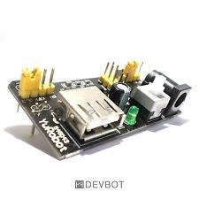 Module Alimentation MB102 3,3/5V pour platine d'essai. Breadboard, Arduino, DIY