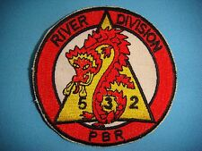 VIETNAM WAR RE PATCH US NAVY RIVER DIVISION PBR 532