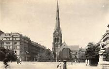 Christ Church ( now demolished ) Lancaster Gate London unused RP pc Robin Hood