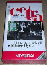 I CETRA - DR. JEKYLL E MR.HYDE (BIBLIOTECA DI STUDIO UNO) VIDEORAI