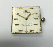 Vintage Men's Hamilton Thin Line Watch Dial & Movement Cal 680 For Parts Repair