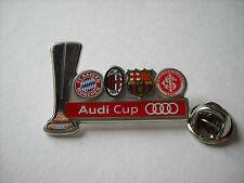 a1 MILAN BARCELONA BAYERN INTERNACIONAL audi cup 2011 spilla football calcio pin
