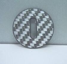Smart Fortwo 451/1 pieza de carbono real placa de plata de colores para el contacto