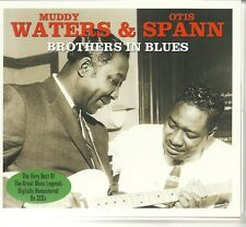 MUDDY WATERS & OTIS SPANN BROTHERS IN BLUES - 2 CD BOX SET