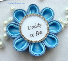 Daddy to Be Personalised Gift,Baby Boy Shower Gift Present, Grandad to Be Badge