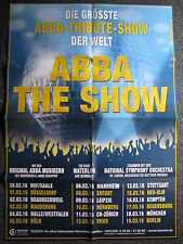 ABBA The Show-Konzertplakat-Tourplakat-Deutschland 2016-Poster