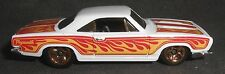 Hot Wheels Custom 68 Plymouth Barracuda Formula S White with Flames Loose Mattel
