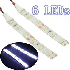 2X 12V Waterproof Cool White 5630 LED Strip Lights Camping Car Boat Vans Caravan
