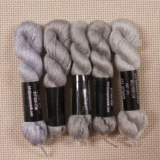 Planet Earth Pepper Pot single strand silk collection Silver grey